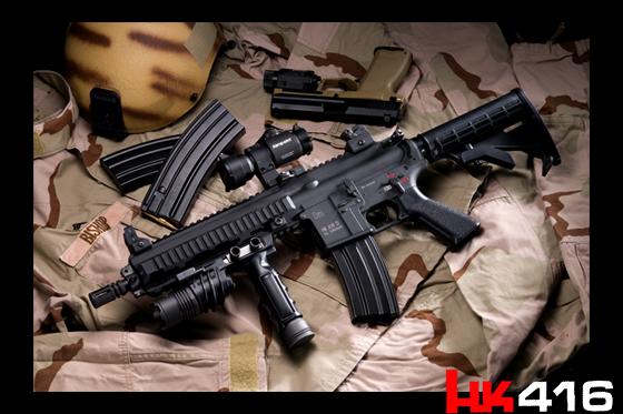 VFC HK416  ※上記画像はオプション等を加えた製品イメージです。 ■HK416ヒスト..