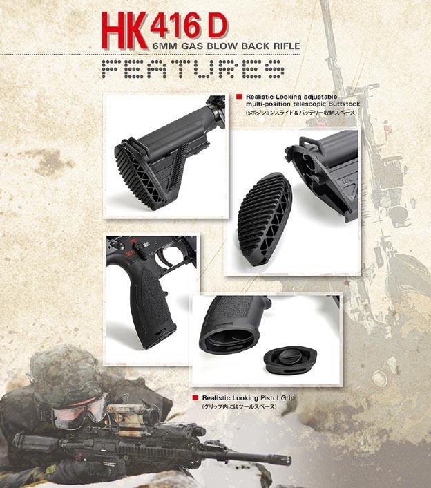 VFC/Umarex HK416 GBB
